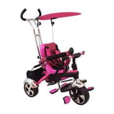 Baby Mix Detská trojkolka Baby Mix pink Ružová