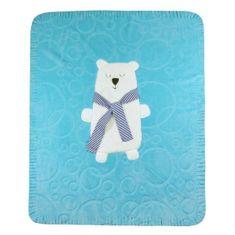 KOALA Detská deka Koala Polar Bear modrá Modrá