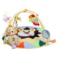 PLAYTO Hracia deka s melódiou PlayTo levíča s hračkou Žltá