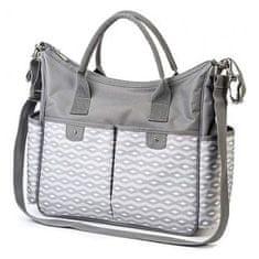 BABY ONO Štýlová taška na kočík BASIC SO CITY Baby Ono svetlo sivá Sivá