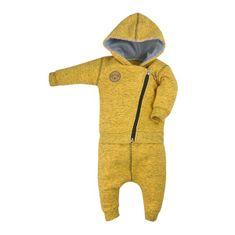 KOALA Dojčenské tepláčky a mikinka Koala Koala melírovaná žltá 74 (6-9m) Žltá