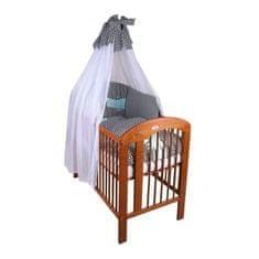 Womar 6-dielne posteľné obliečky Womar krokodíl 100x135 Čierna