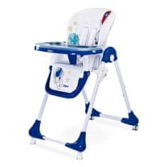 Caretero Jedálenská stolička CARETERO Luna navy Modrá