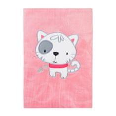 KOALA Detská deka Koala Animals ružová Ružová