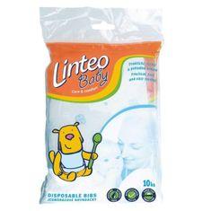 LINTEO Jednorazové podbradníky Linteo Baby 10ks Podľa obrázku