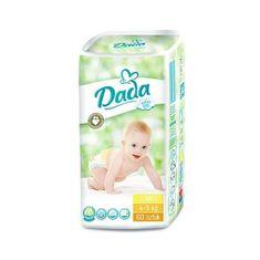 Dada | Dada | Detské jednorázové plienky DADA Extra Soft 3MIDI 4-9 kg 60 ks | Biela |