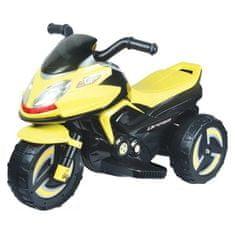 BAYO Elektrická motorka BAYO KICK yellow Žltá
