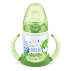 Nuk Dojčenská fľaša na učenie NUK 150 ml zelená monster Zelená