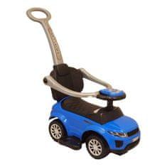 Baby Mix Detské hrajúce vozítko 3v1 Baby Mix modré Modrá