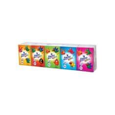 LINTEO Papierové vreckovky Linteo Kids mini 10x10ks biele 3-vrstvové Podľa obrázku