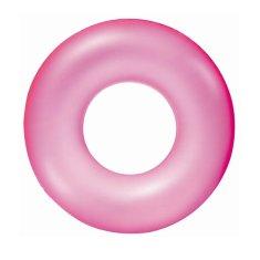 Bestway Detský nafukovací kruh Bestway ružový Ružová