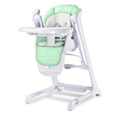 Caretero Detská jedálenská stolička 2v1 Caretero Indigo mint Zelená