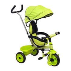 Baby Mix Detská trojkolka Baby Mix Ecotrike green Zelená