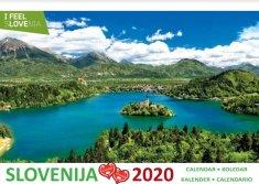 Namizni koledar Slovenije 2020