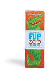 Crocodile Creek Magnetické kocky Zvieratá džungle