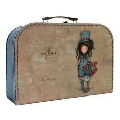 Santoro Gorjuss kufrík The Hatter veľkosť L
