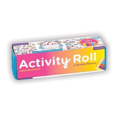 Mudpuppy Aktivity omaľovánka s farbičkami Jednorožec