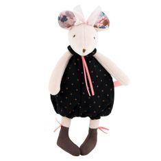 Moulin Roty Hrkálka Myška čierna