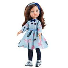 Paola Reina Bábika Carol v modrých šatách 32cm