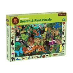 Mudpuppy Hľadaj a nájdi puzzle Dažďový prales 64ks