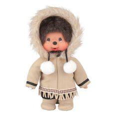 Monchhichi Mončiči chlapec z Aljašky 20cm