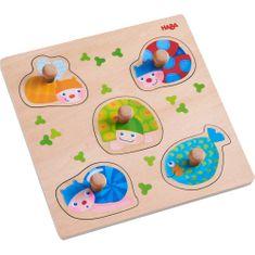 HABA Vkladacie puzzle Farebné zvieratká