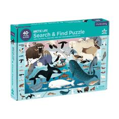 Mudpuppy Hľadaj a nájdi puzzle Život na Arktíde 64ks