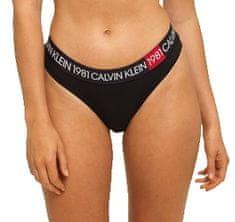 Calvin Klein Dámske nohavičky Thong QF5448E-001