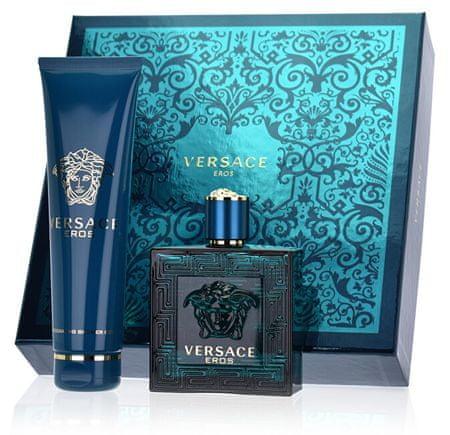 Versace Eros - EDT 100 ml + sprchový gel 150 ml