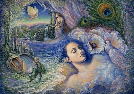Grafika Puzzle 1500 db Josephine Wall - Whispered Dreams