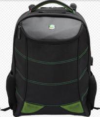 BESTLIFE Snake Eye ruksak za 17″ (43,2 cm) prijenosna računala BL-BB-3332GE, crno-zelena