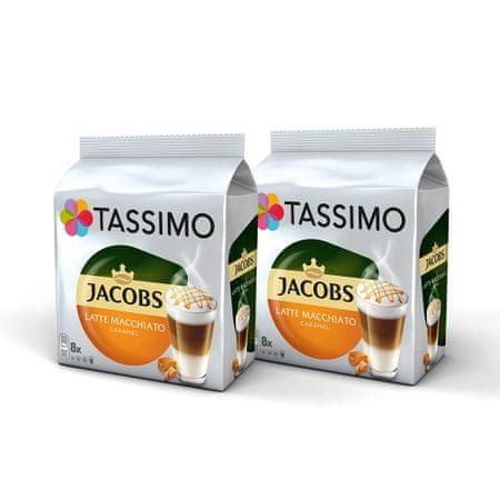 Jacobs kapsułki z kawą T-Disc Latte Macchiato Caramel - 2x