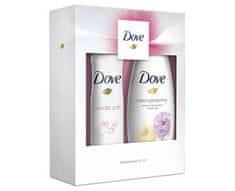 Dove poklon set Relaxing Care (gel za tuširanje + deodorant u spreju)