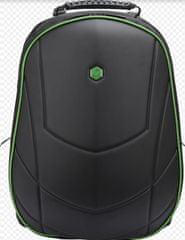 BESTLIFE Batoh Assailant na 17″ notebook BL-BB-3331GE, černý/zelený