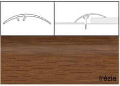 Dimex Prechodové lišty narážacie A65, 5 x 93 cm - frézia