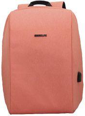 BESTLIFE Batoh Travel Safe na 15,6″ notebook BL-BB-3456PI, růžový