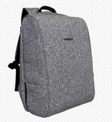 BESTLIFE putni ruksak Travel Safe BL-BB-3456GR, 15,6″/39,62 cm, predio za prijenosno računalo, svijetlo siva