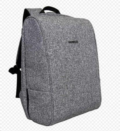BESTLIFE Plecak Travel Safe na laptopa 15,6″ BL-BB-3456GR, szary