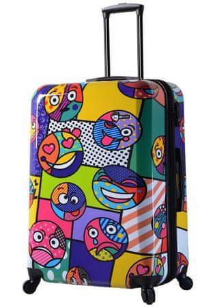 Mia Toro Utazó bőrönd M1311 / 3-L