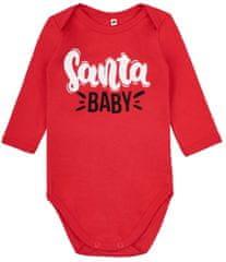 Garnamama Body dziecięce Santa Baby
