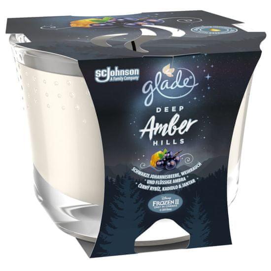 Glade MAXI candle Deep Amber Hills 224 g