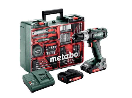 Metabo SB 18 L SET akumulatorski udarni vrtalnik + set pribora (602317870)