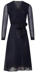 Smashed Lemon Dámske šaty 19878 Black / Cobalt