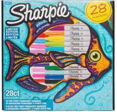 Sharpie Sharpie flomasteri Riba, tanki, 28 komada
