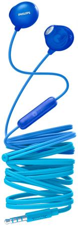 PHILIPS SHE2305 fülhallgató mikrofonnal, kék
