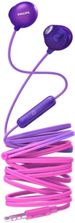 Philips SHE2305 slušalke, roza vijolična
