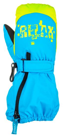 Relax detské lyžiarske rukavice PUZZYTO RR17H 2 tyrkysová