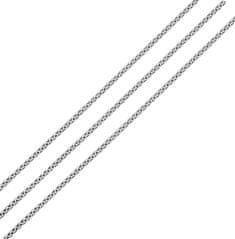Brilio Silver Strieborná retiazka Venezia 50 cm 471 086 00097 04 striebro 925/1000