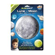 Buki France Mesiac nálepka svietiaca v tme