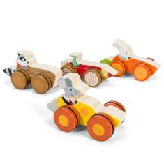 Le Toy Van Pretekári z lesa (drevené autíčko so zvieratkom)